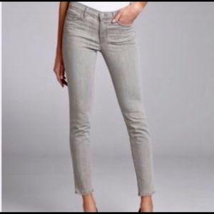 JBrand 28 Gray Skinny Jeans Mid Rise Stretch